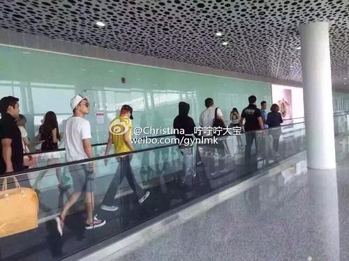 more BIGBANG arrival Shenzhen 2015-08-07 (57)