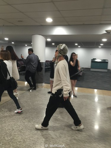 Big Bang - Melbourne Airport - 20oct2015 - _WeNGagA_ - 09