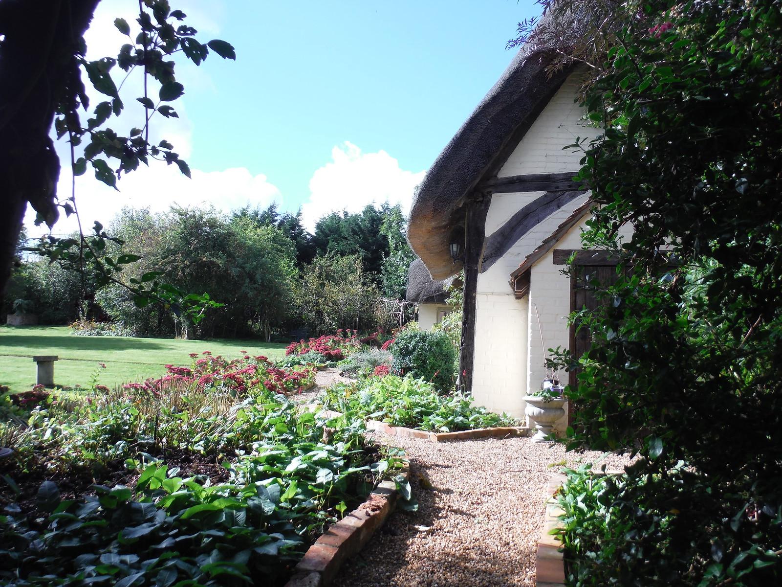 Garden in Hardwick SWC Walk 194 Aylesbury Vale Parkway to Aylesbury
