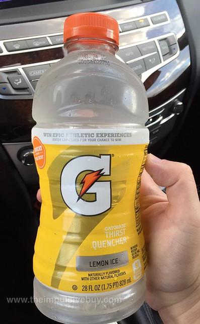 Gatorade Lemon Ice (2015 7-Eleven Exclusive)