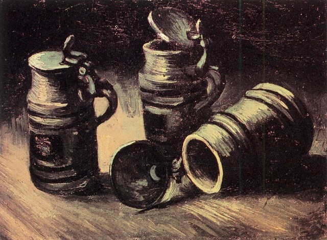 VanGogh-beer-tankards-1885
