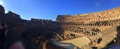 Panorama Bild Colloseum in Rom