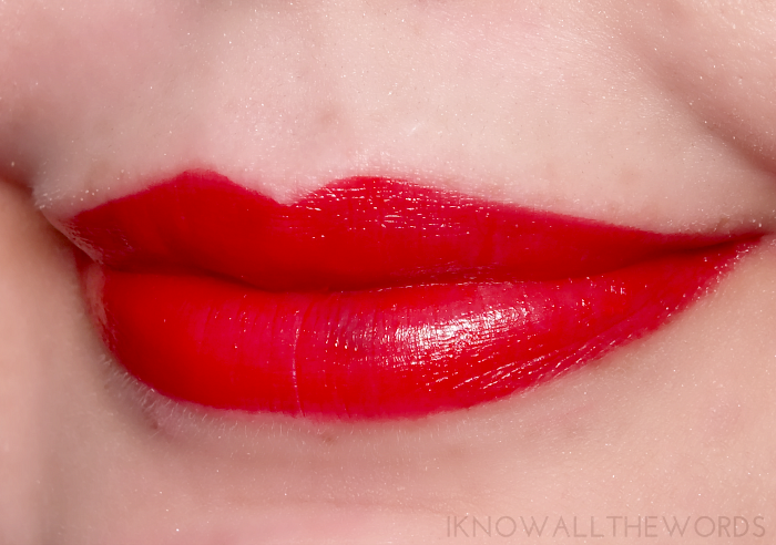 avon ultra colour indulgence lip colour red tulip
