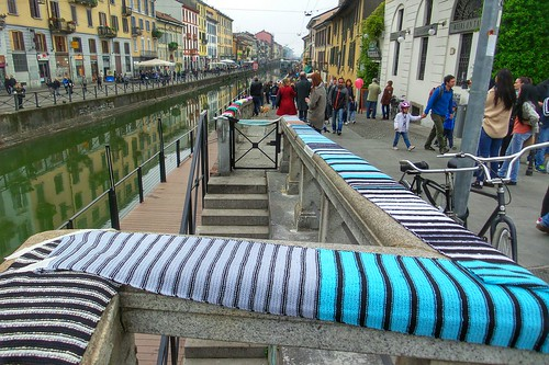 Decoro #knitting per la nuova #Darsena by Ylbert Durishti