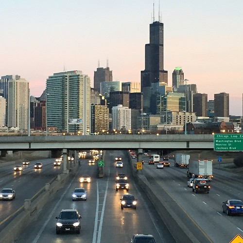 Seven years ago today I moved to this city which I both love and hate. #Chicago