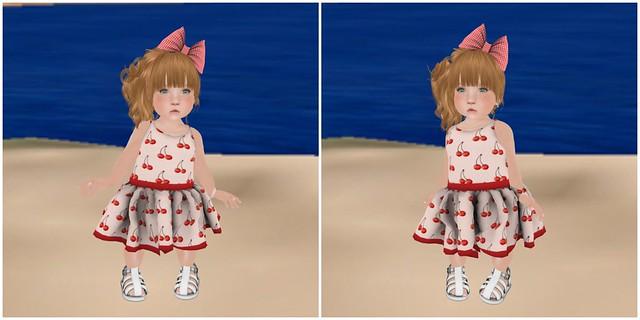 Violetility-Cherry Spring Dress