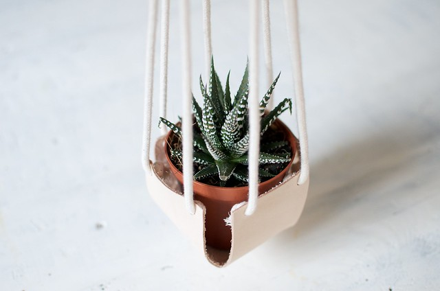 How to make leather box planters www.apairandasparediy.com