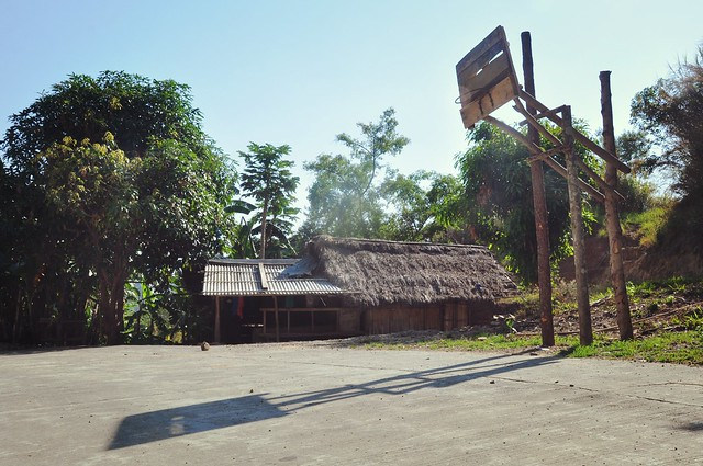 Filipino Basketball Court