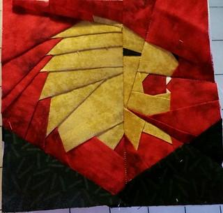 5 inch Gryffindor House Crest