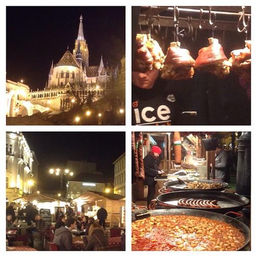 Пасхальная тусовка в Будапеште хороша тем, что в ней нет никакой серьезности - трогательнейший крестный ход вдоль Дуная соседствует с базаром, весельем, обжорством и праздником. Мое лучшее впечатление - тетенька за 40 с коляской с мелкой двойней, огромным