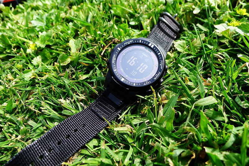 Casio Pro Trek Nylon Band