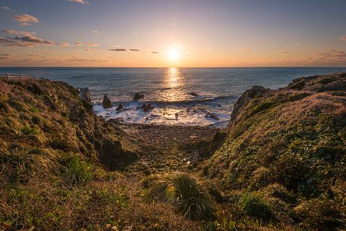 ocean travel sky water japan sunrise nikon warm waves pacific chiba leslie taylor 千葉県 太平洋 日の出 銚子 d610 1635mm ニコン chosi テイラー レスリー lestaylorphoto