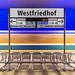 Munich underground - Westfriedhof by FH   Photography