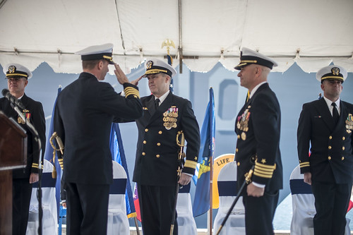 DESRON 21 Holds Change of Command at Naval Base San Diego