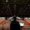 Qué bellos los auditorios vacíos... Pero más cuando se llenan de niños!!! Hoy a las 12h en el Caixa Fórum de Barcelona.
