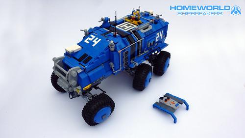 Baserunner MRK-02 (6x6 Exo Recon ATV)
