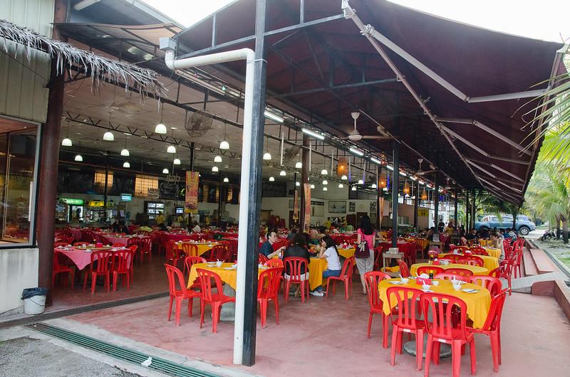 Lala Chong Seafood Restaurant's building