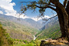 Beautiful landscape in Himalayas