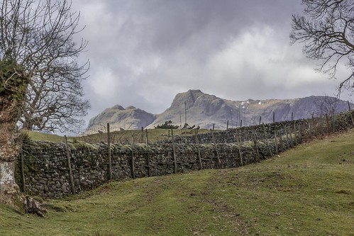 Storm Clouds over the Langdale Pikes