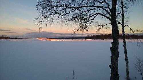 sunset finland kuusamo auringonlasku kirkkosaari