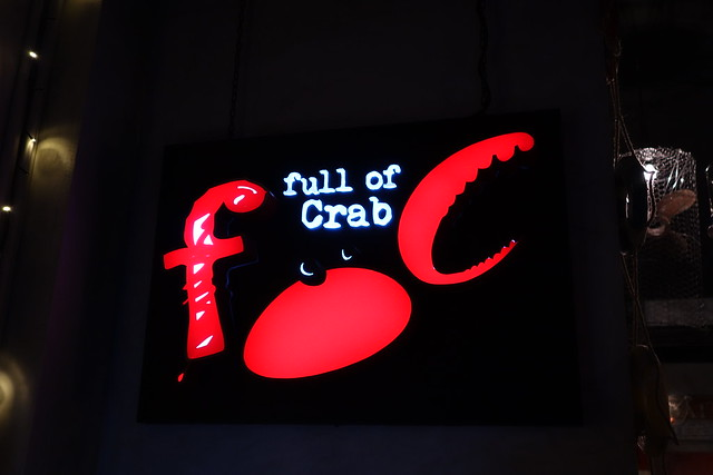 Full of Crab's sign