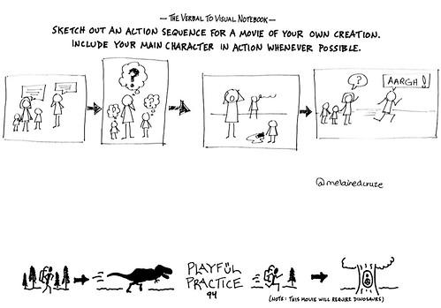 Sketched movie plot
