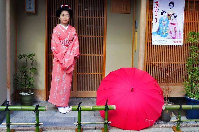 Geisha Posing