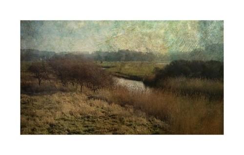 landscape rivers normandy