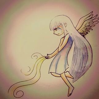 #InstaSize #drawing #ilustrattion #skatch                                          Quando a esperança vai embora.... Ainda não é o fim.