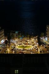 piazza S.Luigi dalla terrazza del Miranapoli