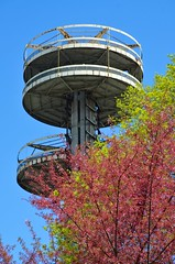 New York State Pavilion In The Spring