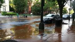 Water Main Break on 900 block of W Fanklin