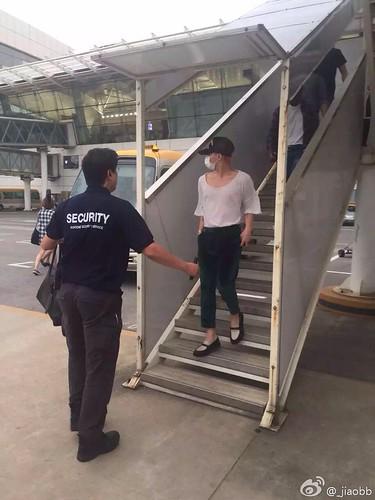 BIGBANG arrival Wuhan 2015-06-26 010