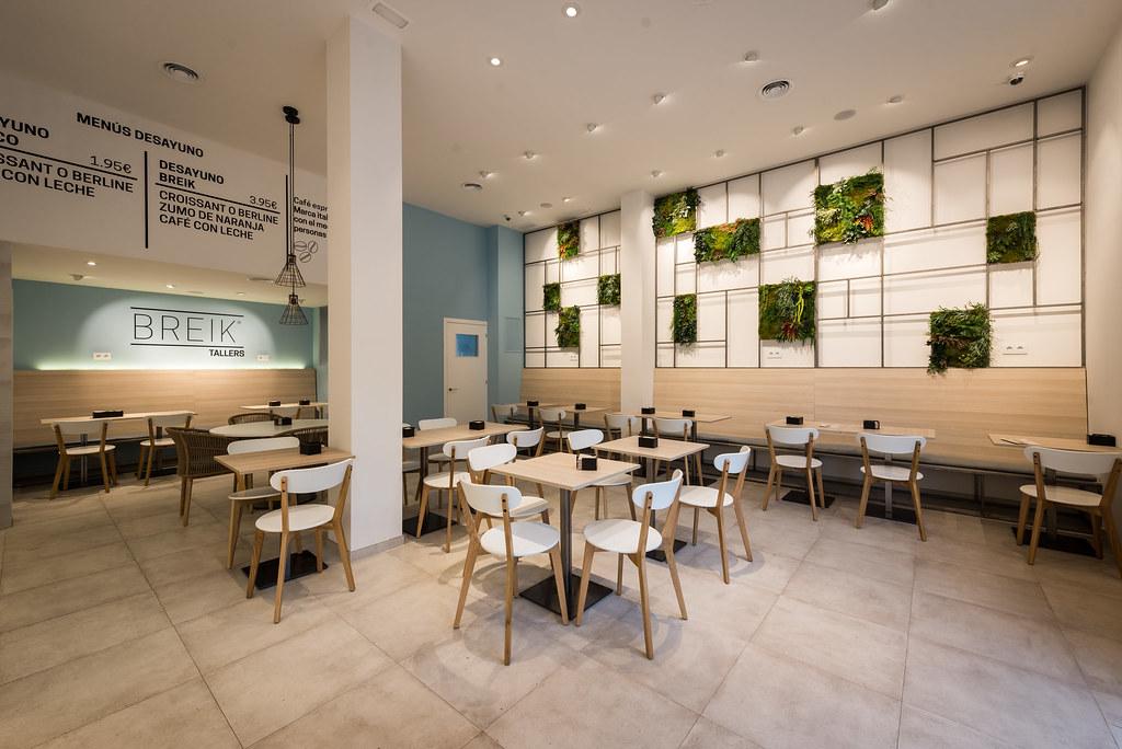 Reformas en barcelona dise o interior cafeter a for Diseno interiores barcelona