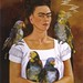 Frida and Her Smoking Parrot by Hank Conner