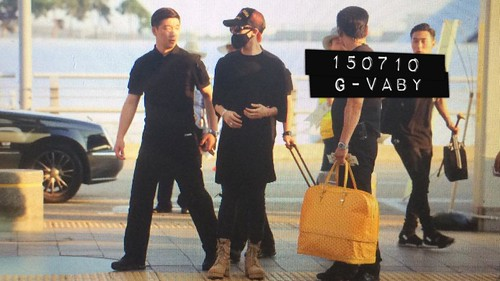 YB Dae GD departure Seoul to Bangkok 2015-07-10 010