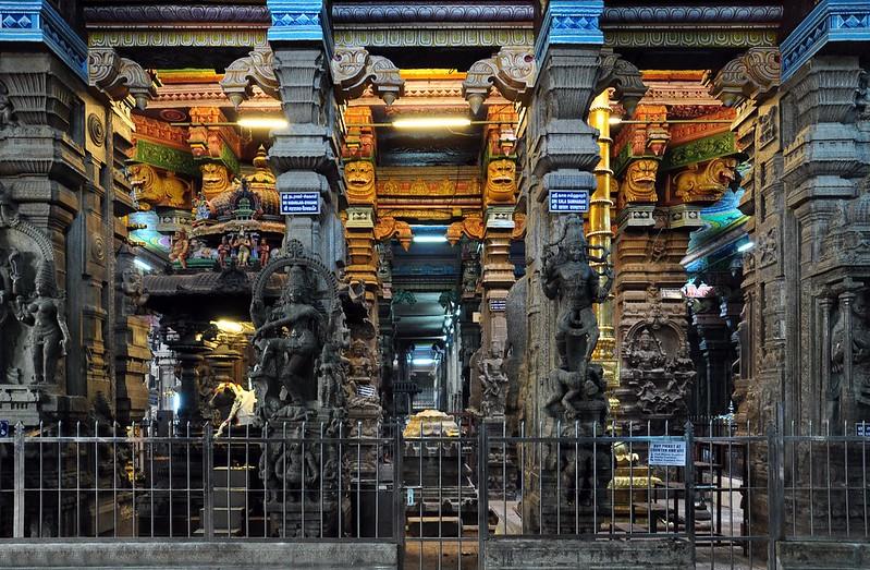 India - Tamil Nadu - Madurai - Meenakshi Temple - 137