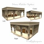 Store Modular System 3D Models