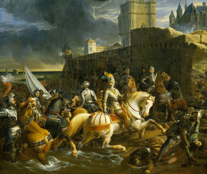 The Siege of Calais by François-Édouard Picot