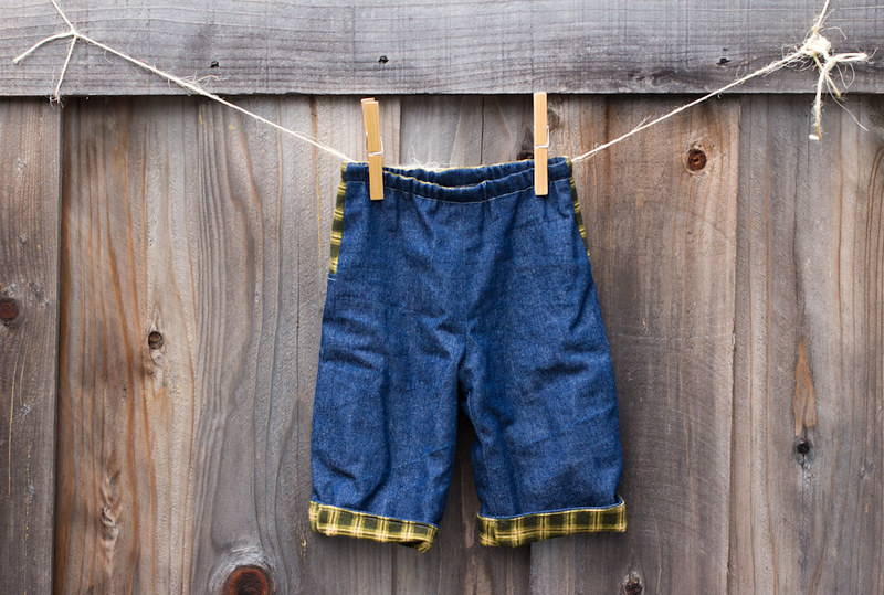 lil' bean :: quick change trousers