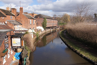 Staffordshire and Worcestershire Canal, Stourport-on-Severn
