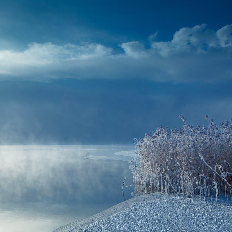 Картинка шатура зимний вечер красивый