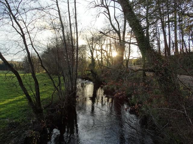 Río Lengüelle en Cerceda