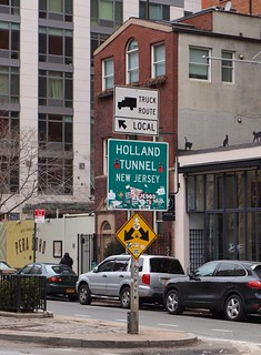 To the Holland Tunnel
