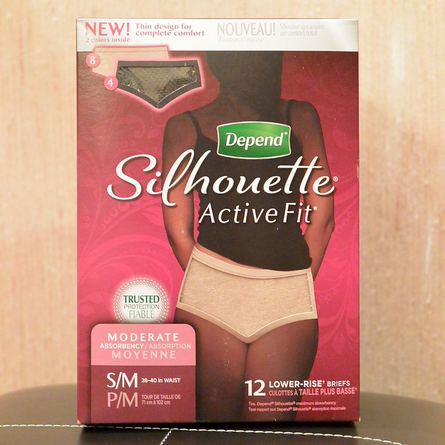 Free Sample Of Depend Silhouette Active Fit Underwear - Three ...