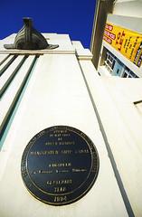 Photo of Victoria black plaque
