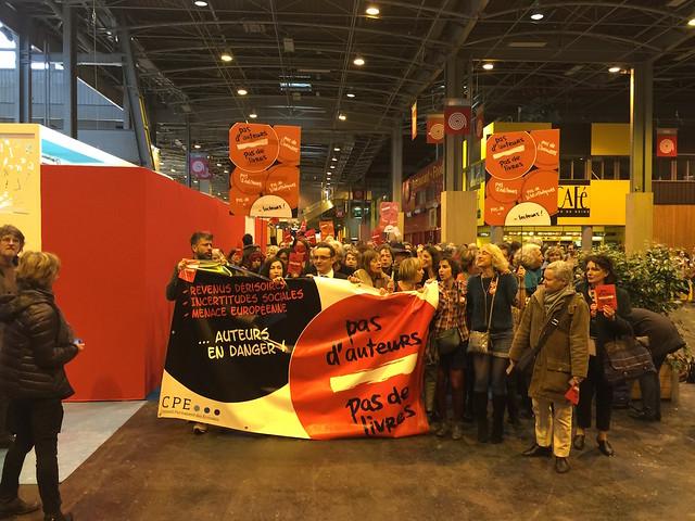 La Marche des auteurs - Salon du Livre de Paris 2015