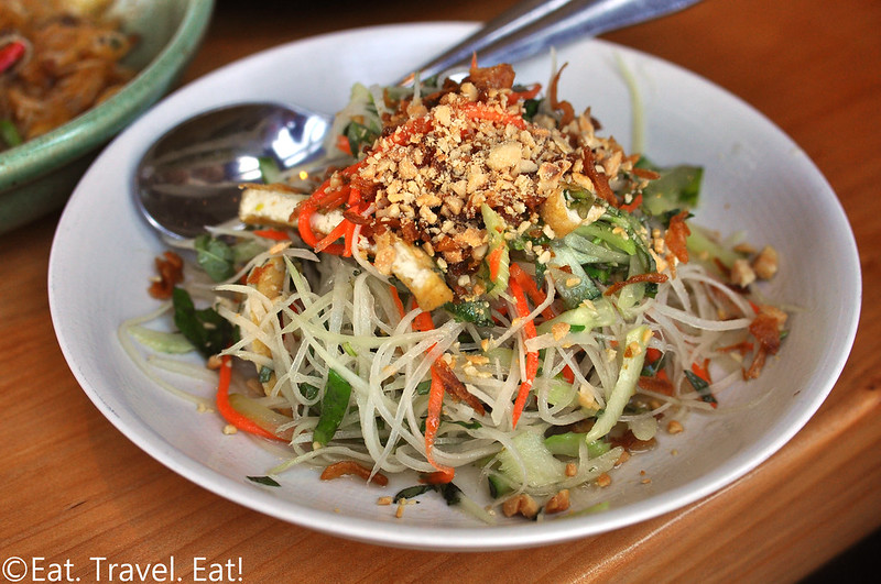 The Slanted Door- San Francisco (Ferry Building Marketplace), CA: Green Papaya Salad