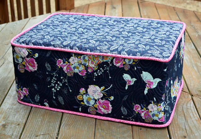 Completed footstool