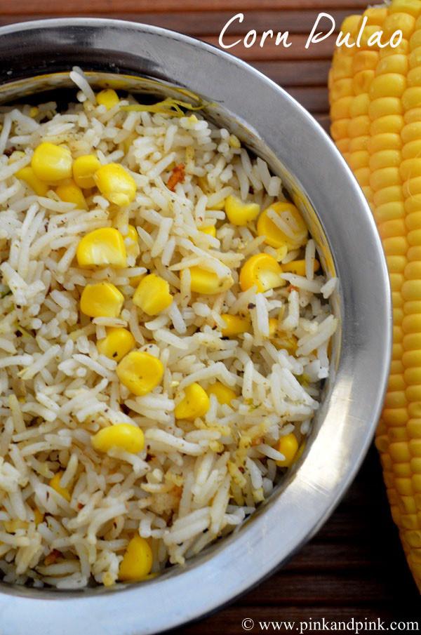 Corn Pulao